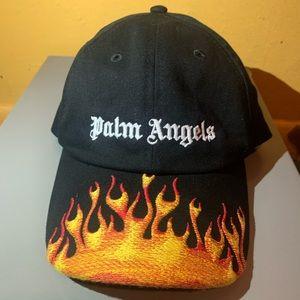 Palm Angels Burning Logo Baseball Cap